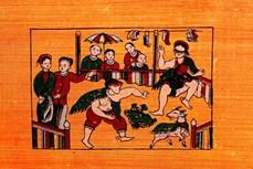 越南民间画引起法国学者的喜爱