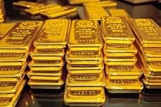 17日上午越南国内市场黄金价格每两下调35万越盾