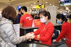 越捷航空将向顾客赠送数百万张代金券