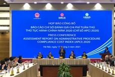 APCI 2020: 税务行政审批制度的改革排名第一