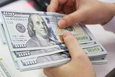今日上午越盾对美元汇率中间价持续下调12越盾