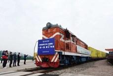 中国湖南直达东盟国际货运班列首发