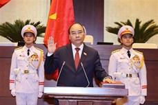 越南第十四届国会第十一次会议:阮春福以97.5%赞成票当选成为越南国家主席