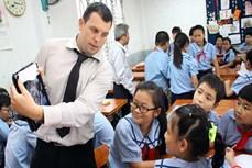 北江省促进高中学校的英语教学活动
