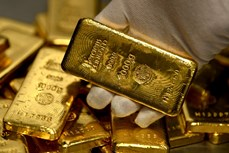 今日上午越南国内市场黄金价格下降