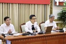 越南政府副总理武德儋指导胡志明市和西南边境10省的疫情防控工作