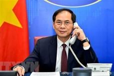 越南一向重视与俄罗斯的全面战略伙伴关系
