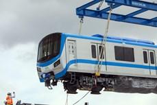 滨城-仙泉地铁1号线的6列车将分别于5月6月和7月运抵胡志明市