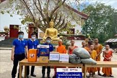 新冠肺炎疫情:旅居老挝越南人同所在地政府携手应对疫情