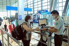 新冠肺炎疫情:越南航空局要求通过扫描QR码进行健康申报