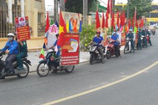 胡志明市青年团员加强宣传  营造换届选举浓厚氛围