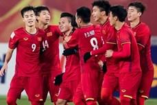 越南U23足球队跻身2022年亚足联U23亚洲杯预选赛一号种子球队
