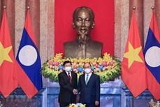 国家主席阮春福对老挝进行正式友好访问:彰显越南对老挝的鼎立和全方位支持