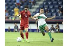 鼓励越南国足队的音乐视频亮相观众