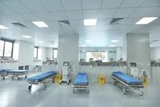 河内新冠患者收治医院竣工落成