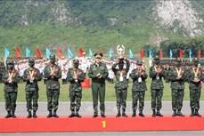 2021年国际军事比赛:越南和俄罗斯参赛队获得金牌