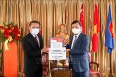 新加坡淡马锡基金向越南捐赠呼吸机和其他防疫物资