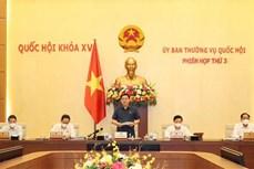 越南第十五届国会常务委员会第三次会议开幕