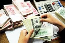 9月13日上午越盾对美元汇率中间价上调5越盾