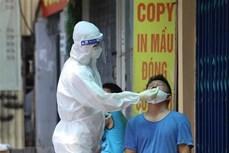 9月13日中午河内市报告新增15例确诊病例