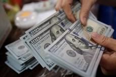 10月15日上午越盾对美元汇率中间价上调18越盾