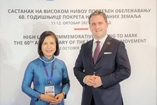 越南出席在塞尔维亚举行的纪念不结盟运动成立60周年高级别会议