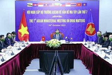 第六届东盟禁毒合作部长级会议以视频方式召开