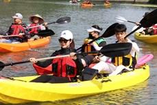 越南旅游:划皮划艇探索长安世界遗产之美