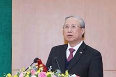 越南书记处常务书记陈国旺:内政部门要做好参谋助手 使反腐败工作继续成为越共十三大的突出成果