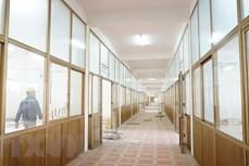 新冠肺炎疫情:海阳省3号野战医院于2月6日竣工投运