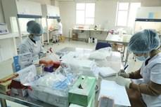海阳省在春节假期后为当地企业1500名员工进行新冠病毒采样检测