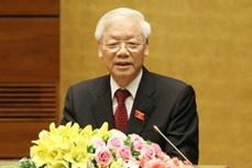 越南领导人向科威特领导人致贺电