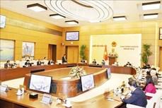 越南国会常务委员会第54次会议闭幕:提请越南国会第十一次会议健全国家领导人人选