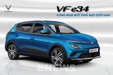 VinFast正式发售首款VF e34电动汽车
