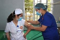 新冠肺炎疫情:越南接种新冠疫苗人数达3.8万人
