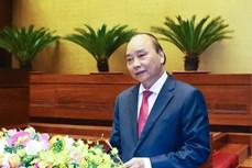阮春福总理发表关于经济社会发展十年战略的专题报告