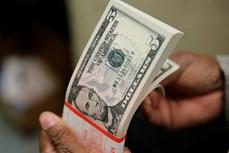 今日上午越盾对美元汇率中间价下调1越盾