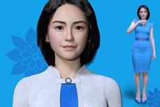 越南首个会说越南语的机器人正式亮相