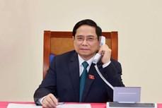 老挝总理与越南新任政府总理范明政通电话表示祝贺