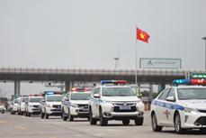 越南全国交警加强巡逻管控确保4·30南方解放日和5·1劳动节假期交通安全通畅
