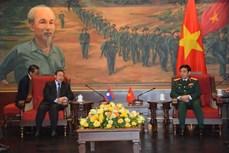 越南与老柬俄深化防务合作