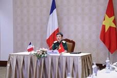 越南与法国加强双边防务合作