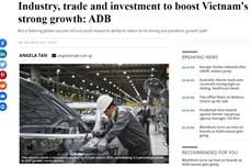 亚行对越南经济增长展望较为乐观