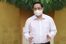 越南政府总理范明政主持第一次政府例行会议