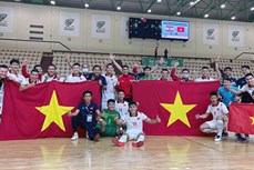 2021年五人制足球世界杯决赛阶段分组抽签结果出炉 越南队分在D组