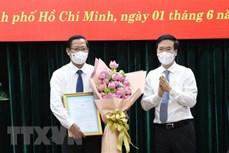 潘文买同志任胡志明市委常务副书记