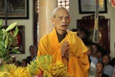 越南佛教协会法主释普惠长老圆寂 享年105岁