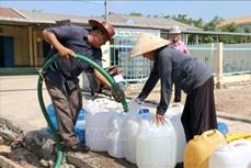 Giải cơn khát cho người dân vùng hạn nặng Bình Thuận