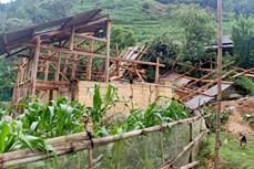 Mưa to, dông lốc gây một số thiệt hại ở Lào Cai