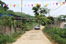 Nhân rộng xóm, xã nông thôn mới kiểu mẫu ở Thái Nguyên